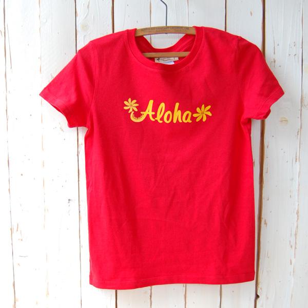 Aloha Tシャツ (レッド)