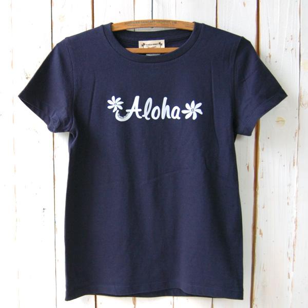 Aloha Tシャツ (ネイビー)
