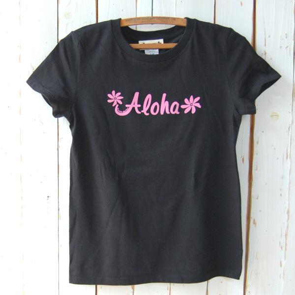 Aloha Tシャツ (ブラック)