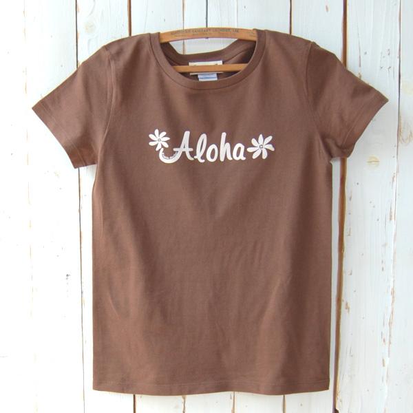 Aloha Tシャツ (ブラウン)